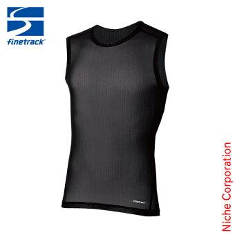 ファイントラックfinetrackドライレイヤークールノースリーブメンズFUM0825スポーツインナー薄手キャンプファッション本格