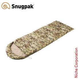 スナグパック ノーチラス スクエア センタージップ テレインカモ SP14660TPC アウトドア シュラフ キャンプ 寝袋 Snugpak