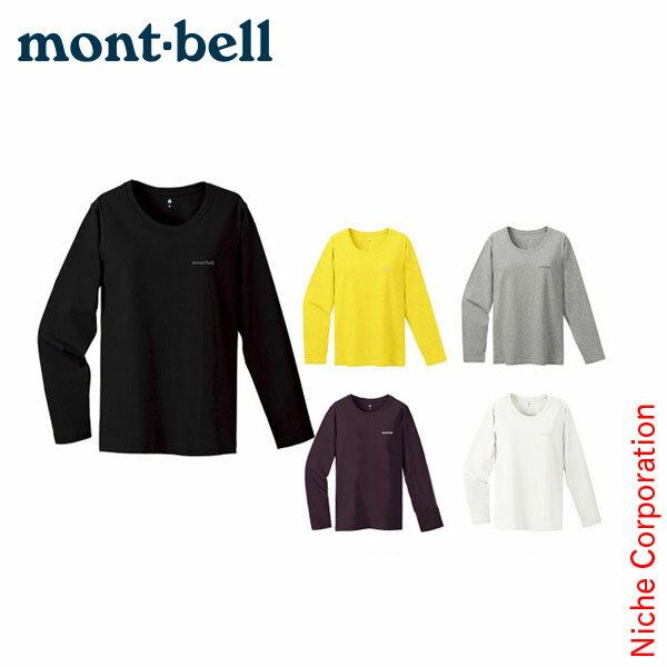 モンベル mont-bell ペアスキンコットン ロングスリーブT Women's #2104497[あす楽][nocu]