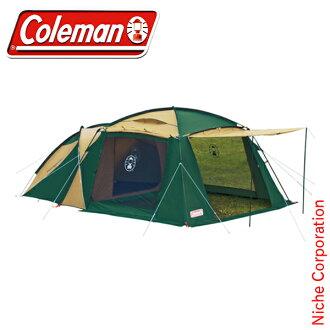 Coleman 科爾曼圓螢幕 2 室房子 [170T14150J],[汽車露營帳篷帳篷 2 室篷布帳篷防水布]