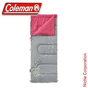 コールマン グローナイトキッズ/C7 (ピーチ) 2000022263 キャンプ用品 来客用 布団セット 新生活 寝袋 洗える 父の日 プレゼント