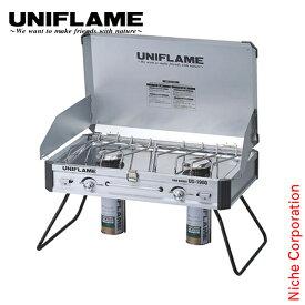 ユニフレーム UNIFLAME ツインバーナーUS-1900us1900 オートキャンプ 610305 用品 ガスコンロ プレミアムショップ