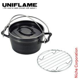 ユニフレーム クッカー ダッチオーブン 6インチ スーパーディープ キャンプ ダッジオーブン 鍋 アウトドア