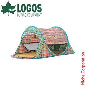 ロゴス タープ チェッカー ポップフルシェルター 71809010 キャンプ 用品 ファミリー