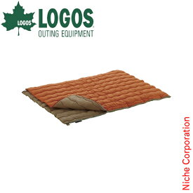 ロゴス 寝袋 2in1 Wサイズ丸洗い寝袋 2 キャンプ シュラフ 封筒型 スリーピングバッグ