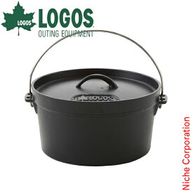 ロゴス LOGOS SLダッチオーブ10inch・ディープ(バッグ付) 81062229 キャンプ用品