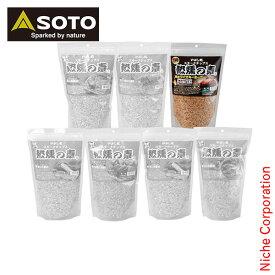 ソト SOTO スモークチップス 熱燻の素 黒樽ウイスキーオーク ST-1317 アウトドア 燻製