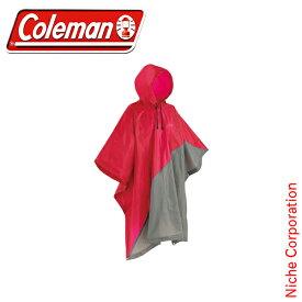 コールマン ファンスタンドポンチョ (レッド) 2000026973 キャンプ用品