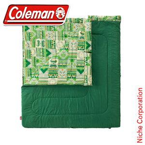 コールマン ファミリー2 in1/C10 2000027256 キャンプ用品 来客用 布団セット 新生活 寝袋