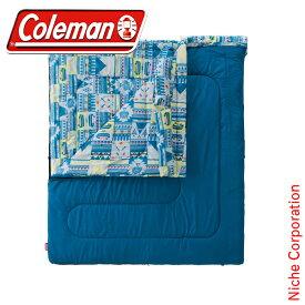 コールマン ファミリー2 in1/C5 2000027257 キャンプ用品 来客用 布団セット 新生活 寝袋