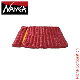 ナンガ シュラフ ラバイマーバッグ W 400 NS-RABA400 レッド 封筒型 ダウン キャンプ用品 RABAIMA BAG NANGA