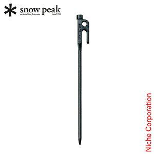 スノーピーク ペグ ソリッドステーク 30 R-103 キャンプ テント タープ アウトドア 鍛造 お1人様6点限り
