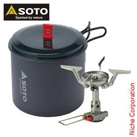 ソト SOTO バーナー アミカスポットコンボ SOD-320PC キャンプ シングルバーナー