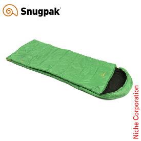 スナグパック ノーチラス スクエア ライトジップ エメラルドグリーン 016224 アウトドア シュラフ キャンプ 寝袋 Snugpak