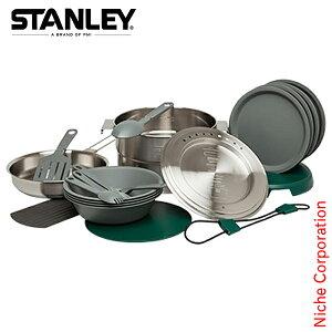 スタンレー ベースキャンプクックセット (シルバー) 02479-004 クッカー 調理 セット アウトドア用品 調理器具 来客用 新生活