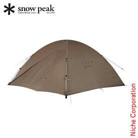 【最大1,000円OFFクーポン配信中】スノーピーク テント ファル Pro.air 4 SSD-704 アウトドア 4人 キャンプ ドーム型