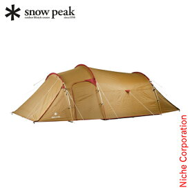 スノーピーク ヴォールト テント ファミリー SDE-080 キャンプ 用品 トンネル型テント ファミリー