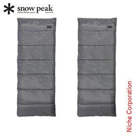 スノーピーク 寝袋 エントリーパックSS SET-105 キャンプ セット アウトドア 春