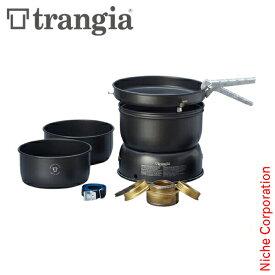 Trangia ( トランギア ) ストームクッカー L ブラックバージョン キャンプ クッカー フライパン コッヘル