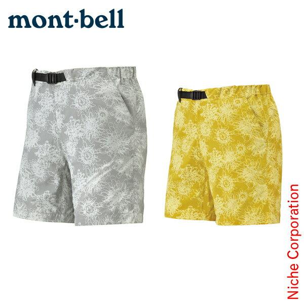モンベル mont-bell O.D.プリントショーツ Women's #1 #1105534[あす楽][nocu]