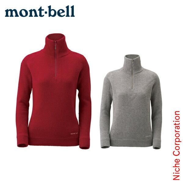 モンベル mont-bell ミッテルレギ ハーフジップ セーター Women's #1106508[TX][14FWpu][あす楽][nocu]