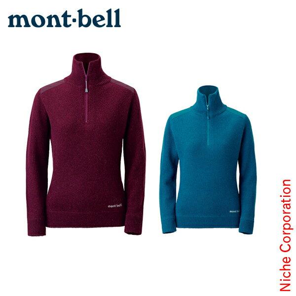 モンベル mont-bell ミッテルレギ ハーフジップセーター Women's #1106546[あす楽][nocu]