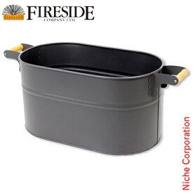 オーバルウッドストッカー(大) 薪ストーブ アクセサリー 暖炉 [ ファイヤーサイド fireside ]