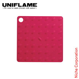 ユニフレーム UNIFLAME シリコングリッパー レッド 661628 キャンプ用品 プレミアムショップ