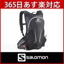 SALOMON AGILE 12 SET BLACK/IRON/WHITE[L35978300]アジャイル 12 セット [サロモン バッグ バックパック 軽量...