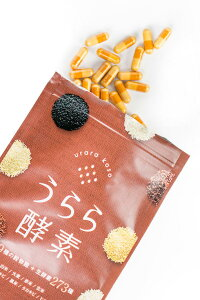 【1000円ポッキリ】話題の「ヤセ菌」配合ダイエットサプリうらら酵素60粒1ヶ月分2個で1個プレゼント