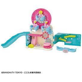 ここたま おもちゃ バンダイ キラキラハッピー ひらけ! ここたま とけいのここたまゆうえんち セール セット
