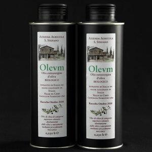 エキストラバージンオリーブオイル250mlセット オリーブオイル Olevm イタリア産 オーガニック 100%有機栽培 高品質 送料無料