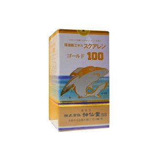 神仙堂深海鲨鱼角鲨烯黄金100 330粒