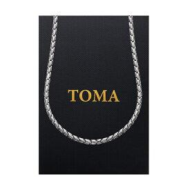 TOMA 4MF 男・女 子弾形 磁気ネックレス ゲルマニウム 保証書付き