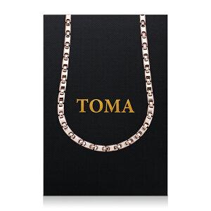 TOMA 9MF 男・女 磁気ネックレス ピンク ゲルマニウム 保証書付き