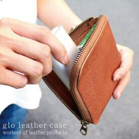グローケース 本革 イタリアンバッファローレザー gloケース レザー メンズ レディース wlp-10 workers of Leather products