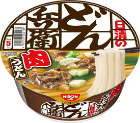 日清食品 日清のどん兵衛 肉うどん 87g カップ 12個