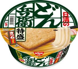 日清食品 【特盛】 日清のどん兵衛 特盛きつねうどん [西] 130g カップ 12個