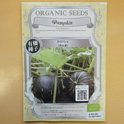有機種子 固定種 かぼちゃ 種 黒皮栗 種子 カボチャ 南瓜 オーガニック グリーンフィールドプロジェクト【ゆうメール選択可】