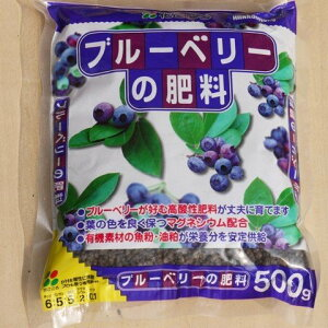 ブルーベリーの肥料 500g 【肥料 ブルーベリー】【肥料 マグネシウム配合】【ブルーベリー クロロシス防止】