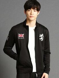 [Rakuten Fashion]Admiral(アドミラル)別注ダンボールニットジップジャケット NICOLE CLUB FOR MEN ニコル カットソー カットソーその他 ブラック ホワイト ネイビー レッド【送料無料】