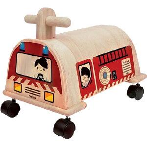 プラントイ 乗用消防車 乗用玩具 ベビー 木馬 乗り物 木のおもちゃ 木製 おもちゃ 足けり 子供用 出産祝い 1歳 2歳 3歳 誕生日プレゼント 誕生日 男の子 男 女の子 女 | 一歳 二歳 幼児 赤ちゃ