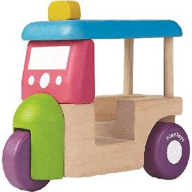 プラントイ トゥクトゥク 車のおもちゃ 木のおもちゃ 誕生日 誕生日プレゼント 木製 子供 男の子 男 1歳 2歳 3歳 出産祝い | 乗り物 おもちゃ ギフト 一歳 幼児 室内 オモチャ 車 玩具 くるま 木製玩具 プレゼント おしゃれ 子ども こども のりもの