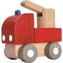 プラントイ ミニファイヤーエンジン 車のおもちゃ 木のおもちゃ 誕生日 誕生日プレゼント 木製 子供 男の子 男 1歳 2…