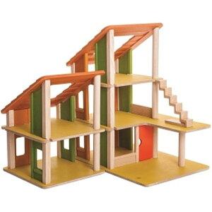 プラントイ シャレードールハウス2 誕生日 誕生日プレゼント 木のおもちゃ 木製 子供 ドイツ 女の子 女 出産祝い 3歳 4歳 5歳 おもちゃ 知育玩具 家具 ドールハウスキット おしゃれ かわいい