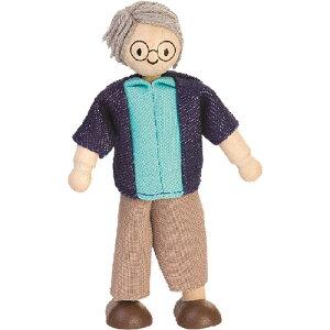 プラントイ おじいちゃん ドールハウス 誕生日 誕生日プレゼント 木のおもちゃ 木製 子供 ドイツ 女の子 女 出産祝い 3歳 4歳 5歳 おもちゃ 知育玩具 家具 ドールハウスキット おしゃれ かわ