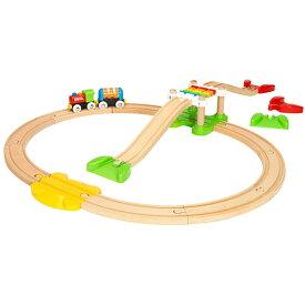 BRIO ブリオ マイファーストビギナーセット 木のおもちゃ 電車 子供 誕生日プレゼント 誕生日 男の子 男 出産祝い 1歳 2歳 3歳 |列車 ギフト 北欧 おもちゃ 乗り物 安心 幼児 玩具 オモチャ トレイン 木製レール レール 出産祝い