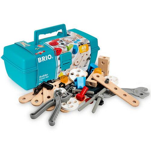 BRIO ブリオ ビルダー スターターセット 知育玩具 3歳 4歳 5歳 木のおもちゃ 木製 誕生日プレゼント 誕生日 男の子 男 女の子 女 こども おもちゃ 子供 オモチャ ギフト 木製玩具 子ども 玩具