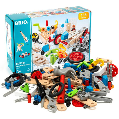BRIO ブリオ ビルダー コンストラクションセット 知育玩具 3歳 4歳 5歳 木のおもちゃ 木製 誕生日プレゼント 誕生日 男の子 男 女の子 女 こども おもちゃ 子供 オモチャ ギフト 木製玩具 子ども 玩具