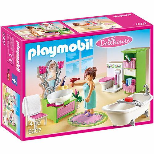プレイモービル ドールハウスシリーズ バスルーム ごっこ遊び 3歳 4歳 5歳 誕生日プレゼント 誕生日 男の子 男 女の子 女 | おもちゃ オモチャ ドールハウス 幼児 ドイツ キッズ ハウス 家 子供 人形 フィギュア 知育玩具 playmobil 子ども玩具 こども